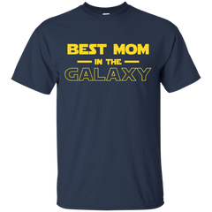 Best Mom In The Galaxy Shirt T shirt Custom Ultra Cotton T-Shirt - teesdiys