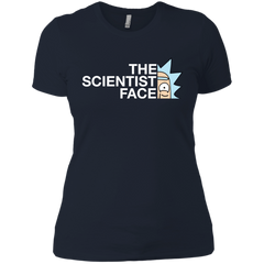 Best Rick And Morty The Scientist Face Rick Funny T Shirt Next Level Ladies' Boyfriend T-Shirt - teesdiys