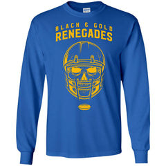 Black And Gold Renegades T-shirt G240 Gildan LS Ultra Cotton T-Shirt - teesdiys