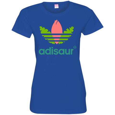 Adisaur Apparel T-shirt - teesdiys Royal / Small 3516 LAT Ladies' Fine Jersey T-Shirt - teesdiys