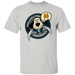 Best Philadelphia Underdogs Philadelphia Eagles Super Bowl T Shirt Custom Ultra Cotton T-Shirt - teesdiys
