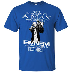 Trending A Man Who Listens To Eminem And Was Born In December G200 Gildan Ultra Cotton T-Shirt - teesdiys