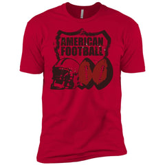 American Football T-shirt - teesdiys NL3600 Next Level Premium Short Sleeve T-Shirt - teesdiys