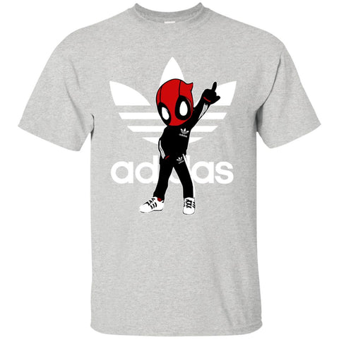 Cool Deadpool Adidas Fashion Men's T-Shirt