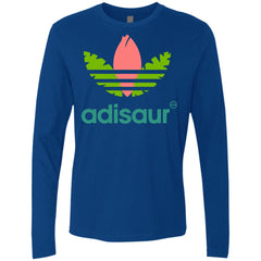 Adisaur Apparel T-shirt - teesdiys NL3601 Next Level Men's Premium LS - teesdiys