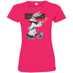 Boss Bug Bunny Lv T-shirt 3516 LAT Ladies' Fine Jersey T-Shirt - teesdiys