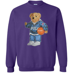 Bigger Bear With Sport Fashion T-shirt G180 Gildan Crewneck Pullover Sweatshirt 8 oz. - teesdiys