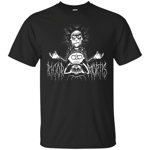 Womens Rick And Morty Rigor And Motis Halloween Shirt - teesdiys Black / Small Custom Ultra Cotton T-Shirt - teesdiys