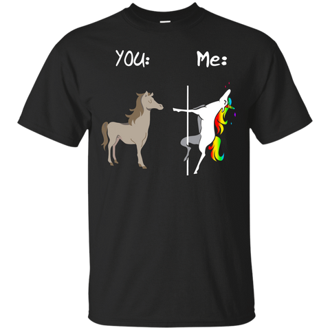 Unicorn You Me Lgbt Funny Shirt Shirt - teesdiys Black / Small G200 Gildan Ultra Cotton T-Shirt - teesdiys