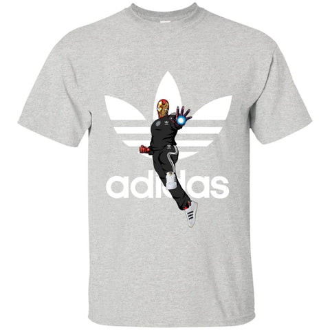 Iron Man Cool Adidas Fashion Men's T-Shirt