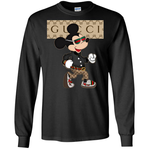 Cool Walking Mickey Gucci T-shirt
