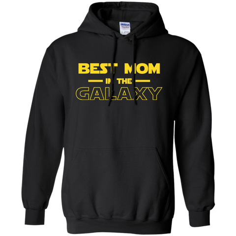 Best Mom In The Galaxy Shirt T shirt Black / Small Pullover Hoodie 8 oz - teesdiys