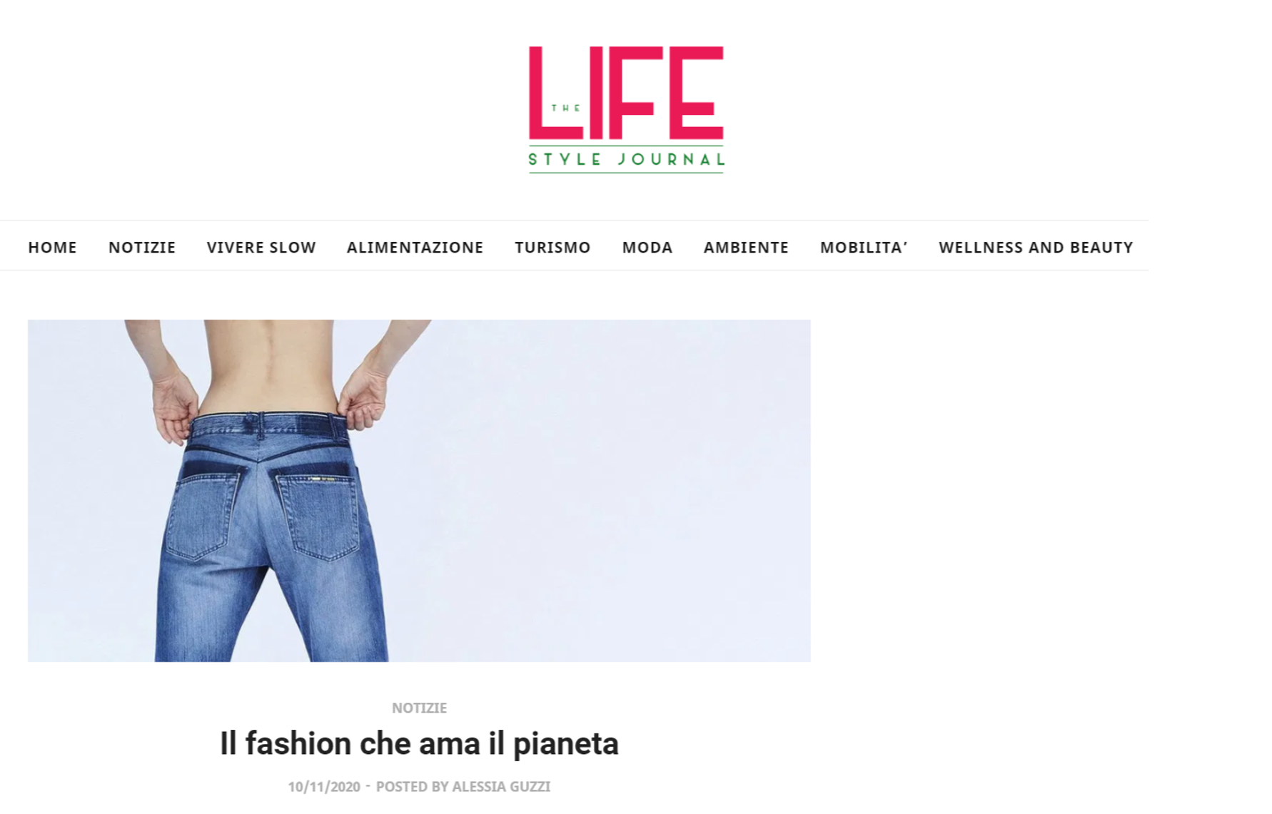 The Lifestyle Journal - Il fashion che ama il pianeta