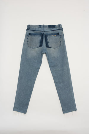 Apollo carrot jean unisex - upcycled garment