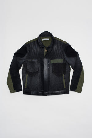 Buni unisex trucker jacket - upcycled garment