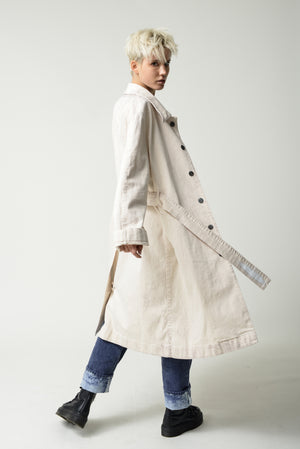 Everest coat unisex - upcycled fabric