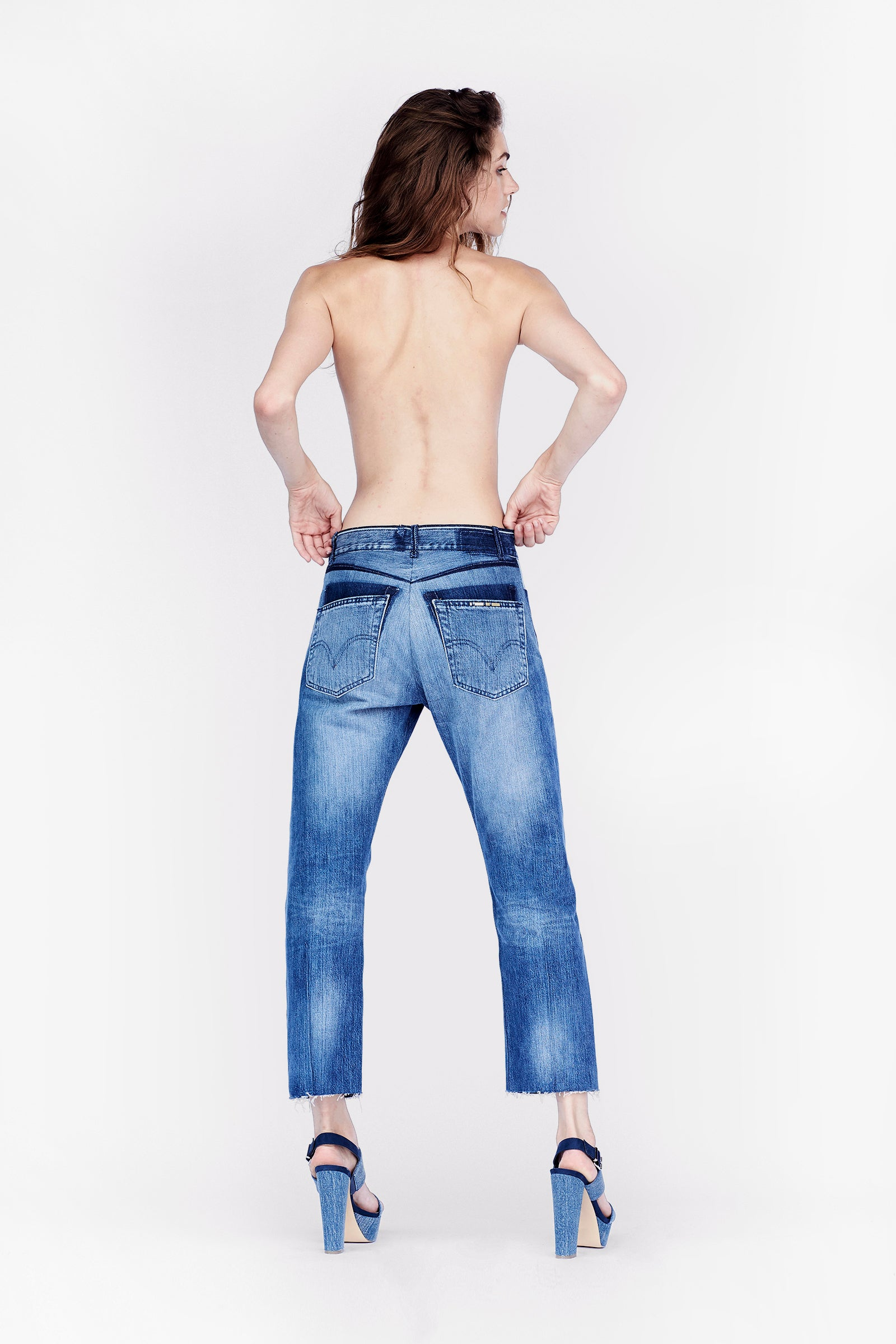 leonia cropped - size 27 - #0208