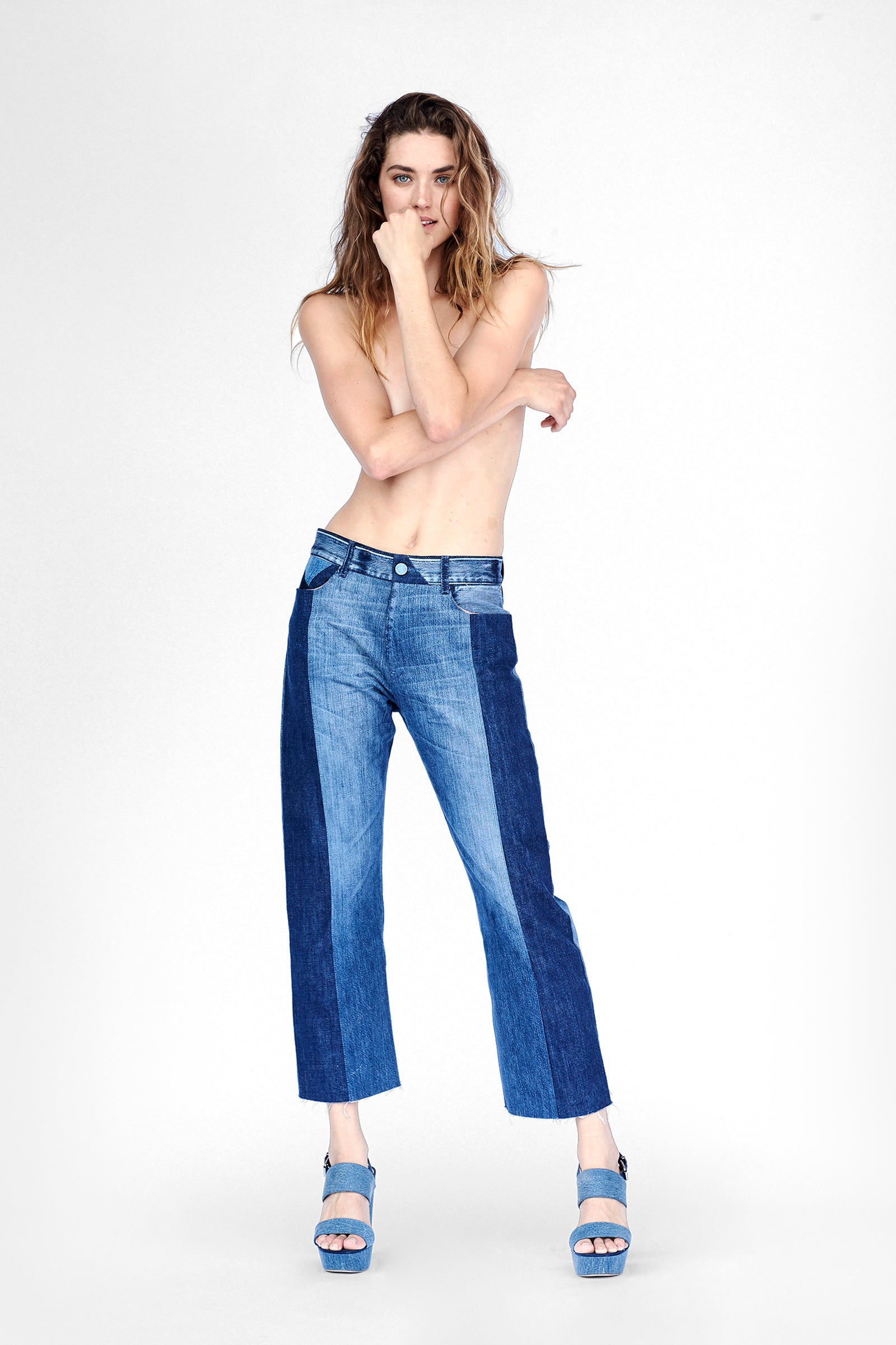 leonia cropped - size 28 - #0263