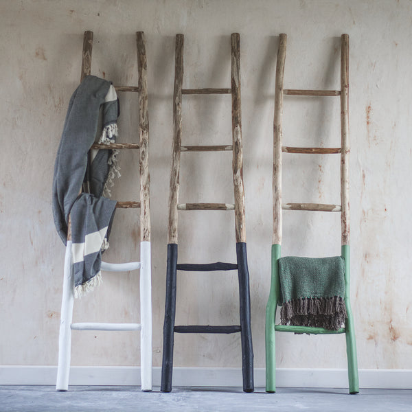 Wooden towel ladders