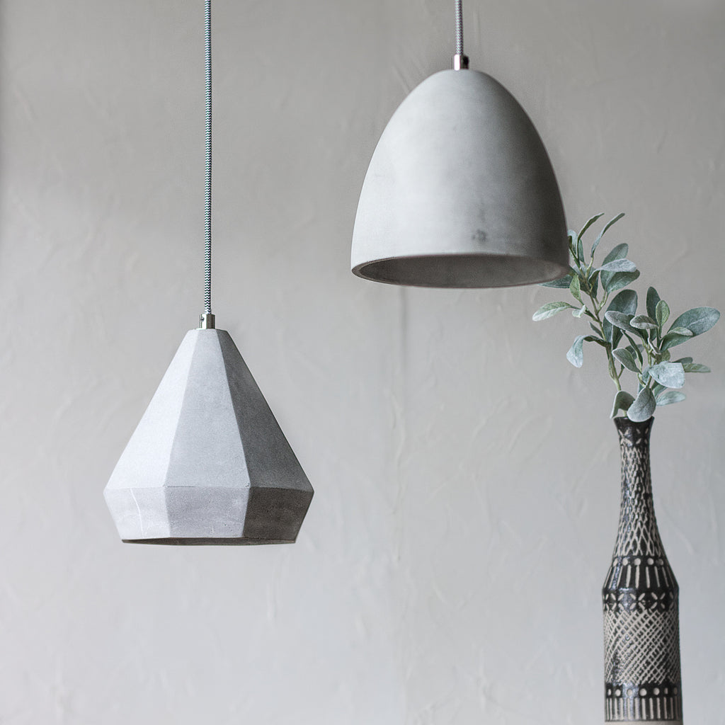 Concrete Pendant Lighting