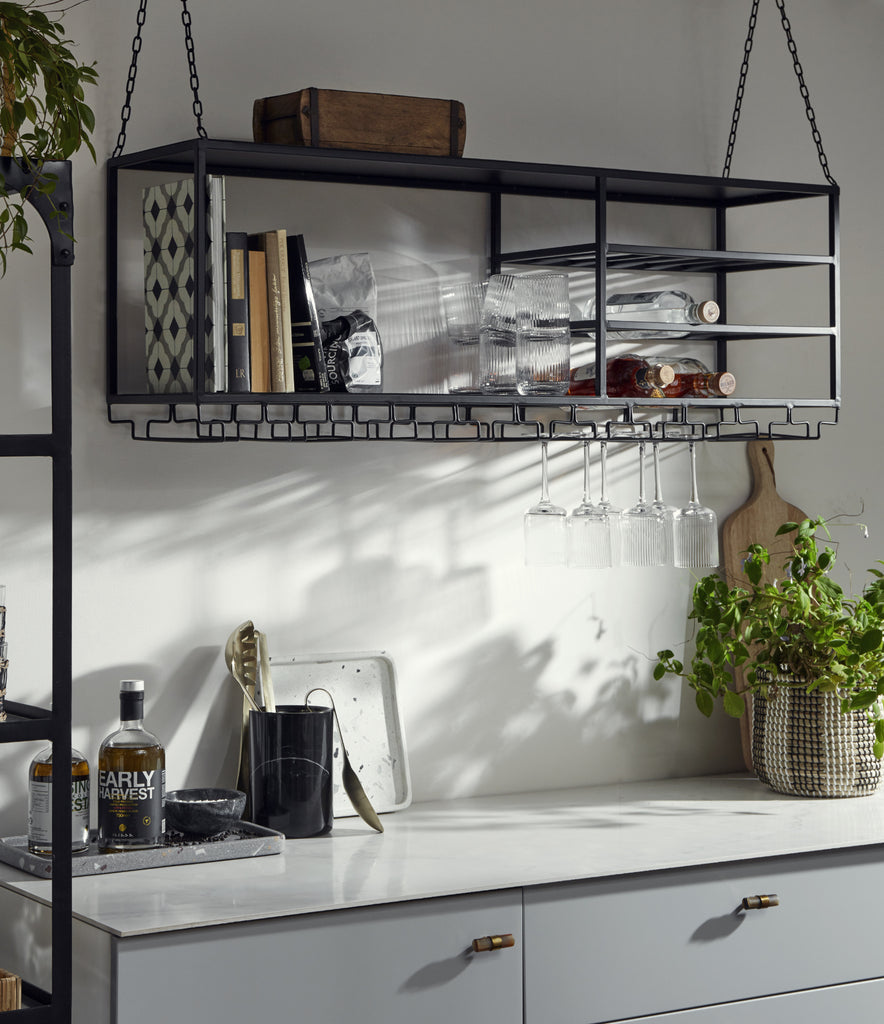 Large Industrial Style Shelf