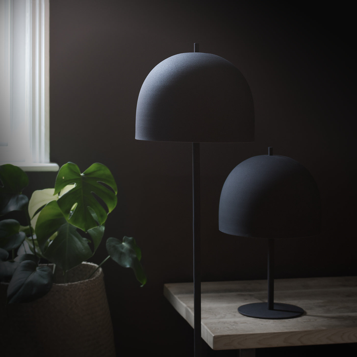 Owler Black Table Lamp