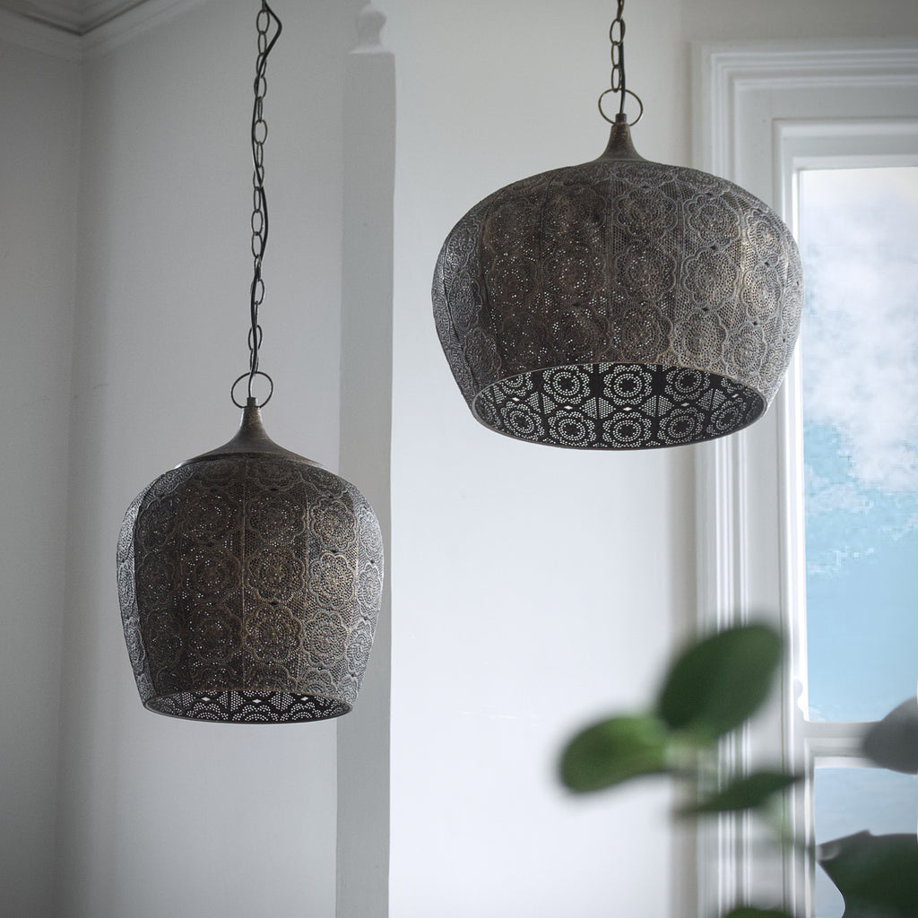 Moroccan lampshade