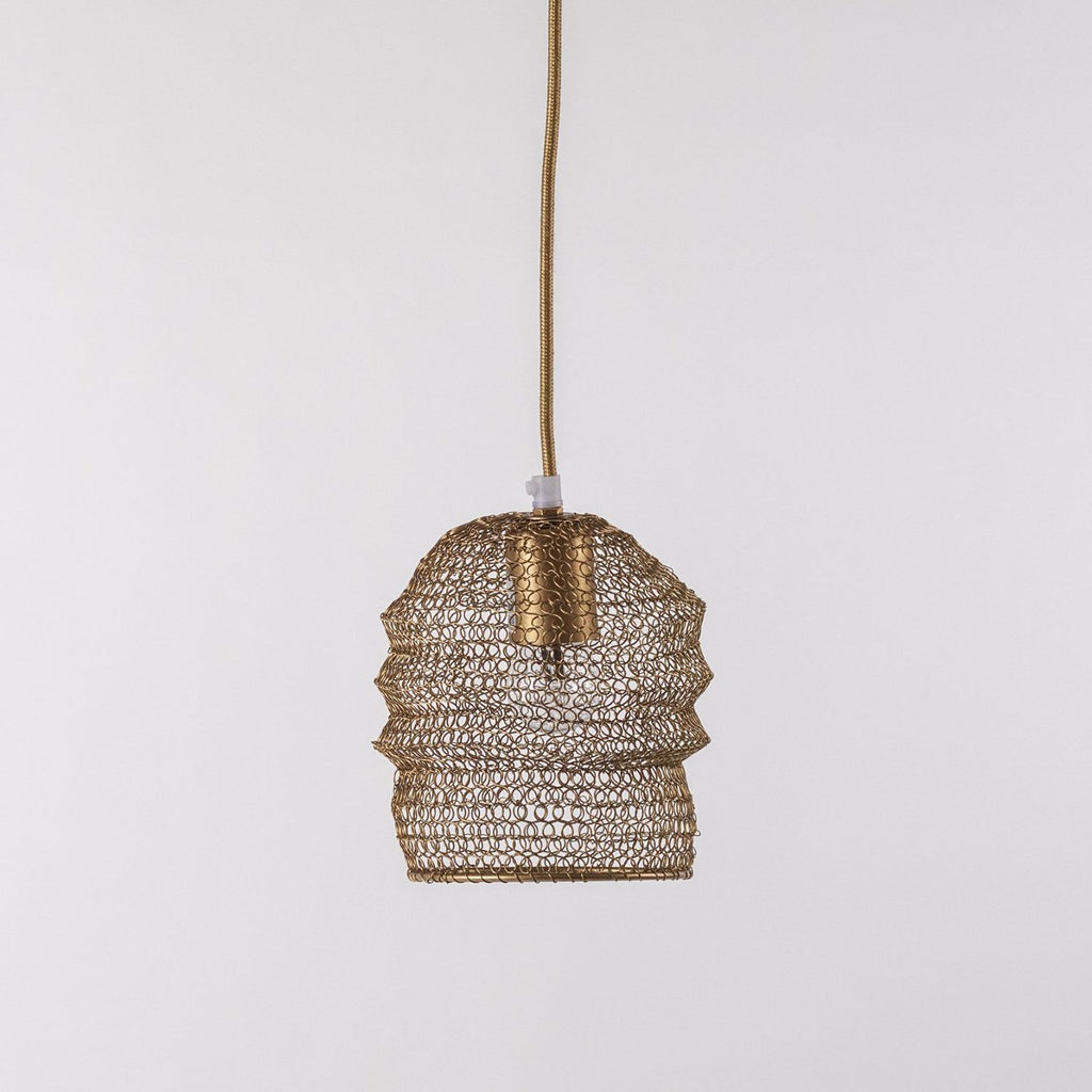 Bronze Wire Lampshade, Small