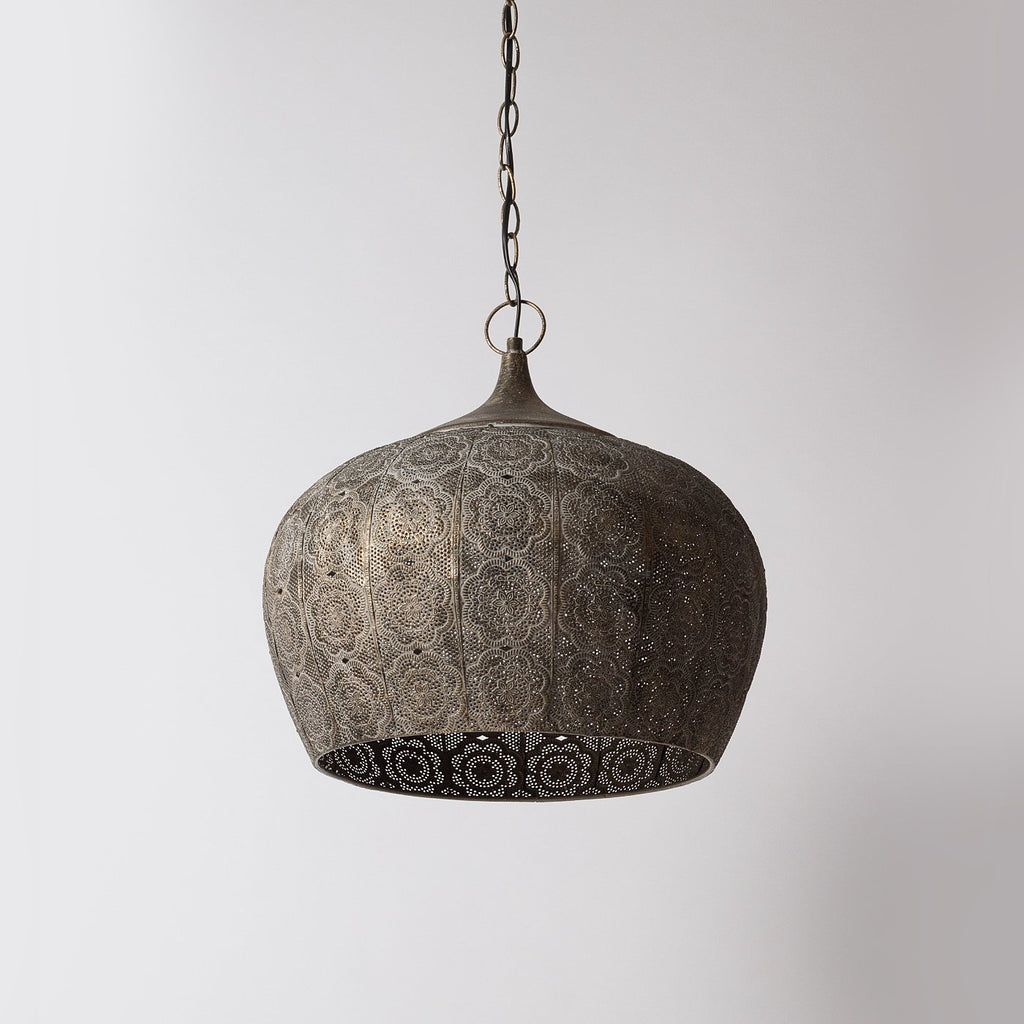 Vintage Metal Pendant Light
