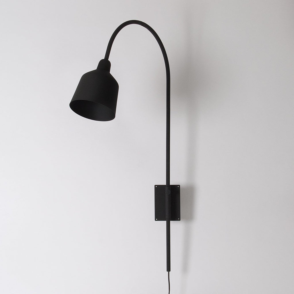 Arched wall light