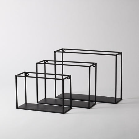 Metal Box Shelves, Set of 3