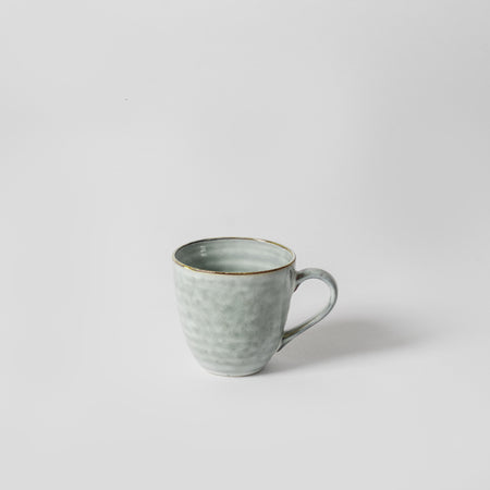 Blue Grey Speckled Mug