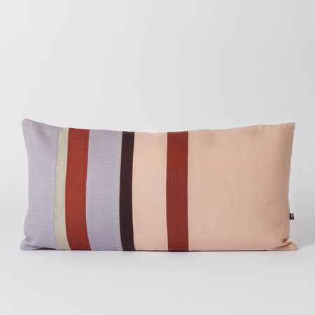 Pink rectangle cushion
