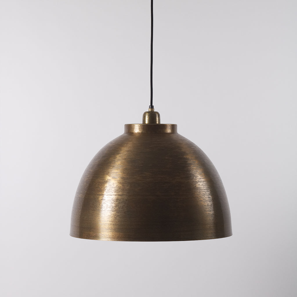 Bronze Pendant Light, Large
