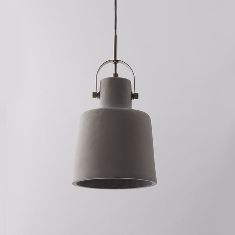 Cast Concrete Pendant Light