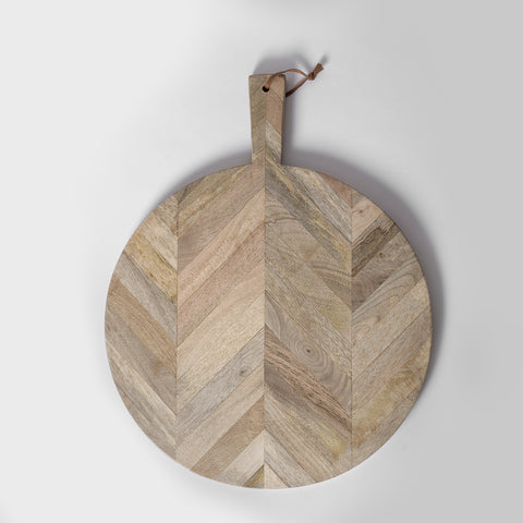 Chevron Cutting Board