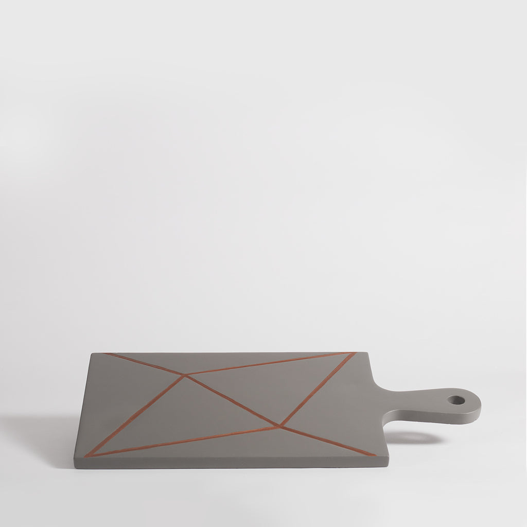 Scribe Concrete Serving Board