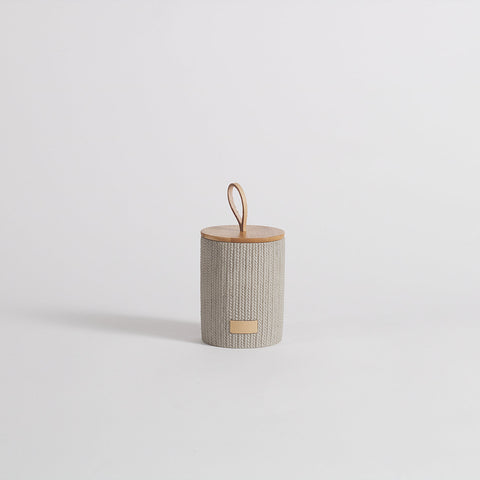 Lint Concrete Grey Storage Jar