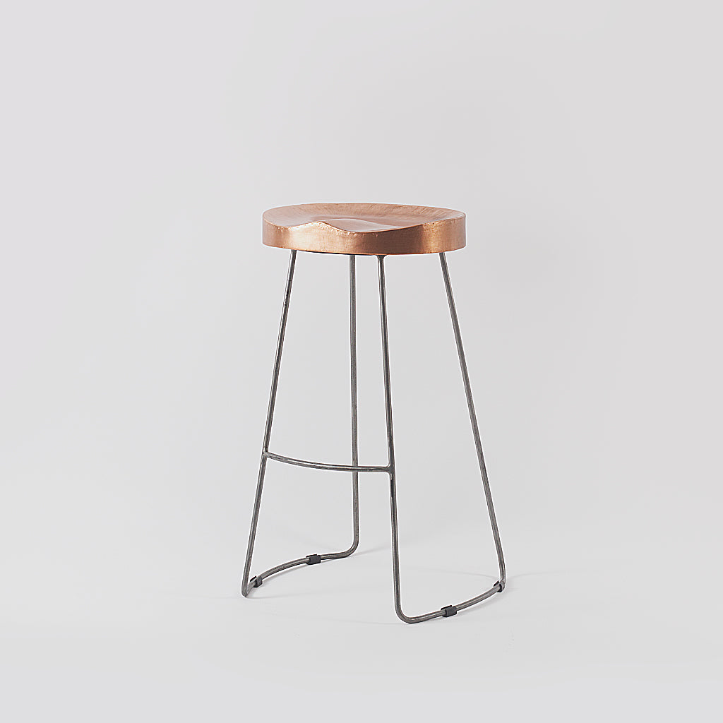 Arlo Copper Bar Stool