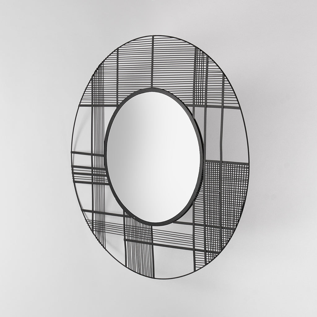 Decorative wall mirror