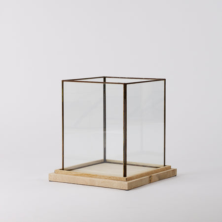 Glass Box Planter Large