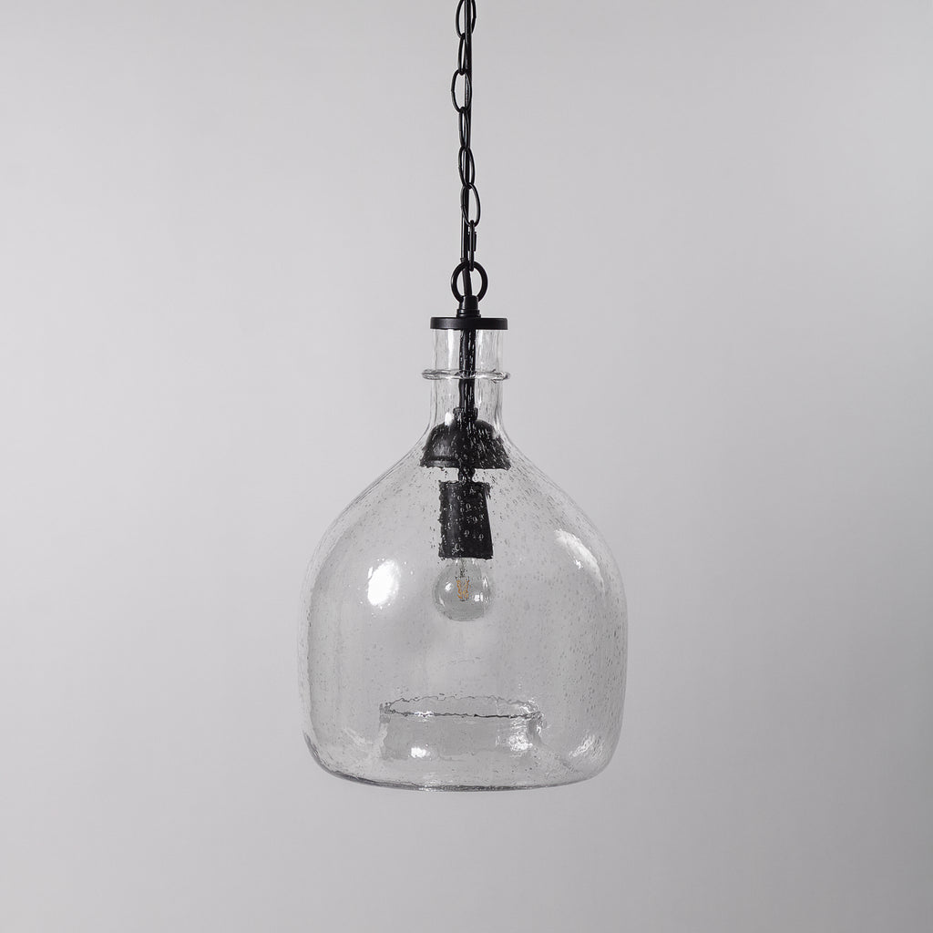 Glass Bell Jar Light, Clear