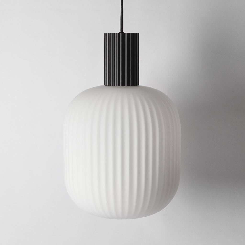 Frosted Globe Pendant Light