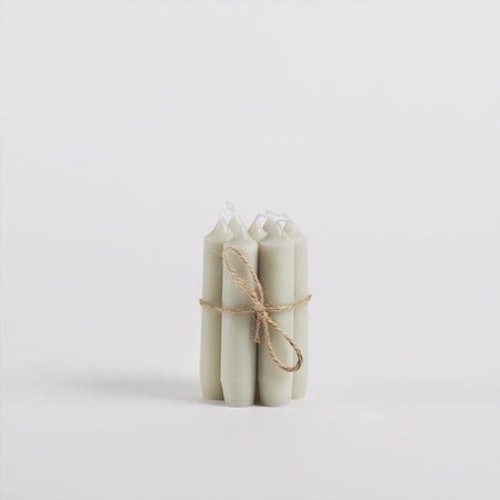 Dinner Candles, Pack of 7, Mint Green