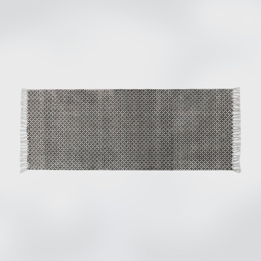 Mantle Grey Distressed Floor Runner