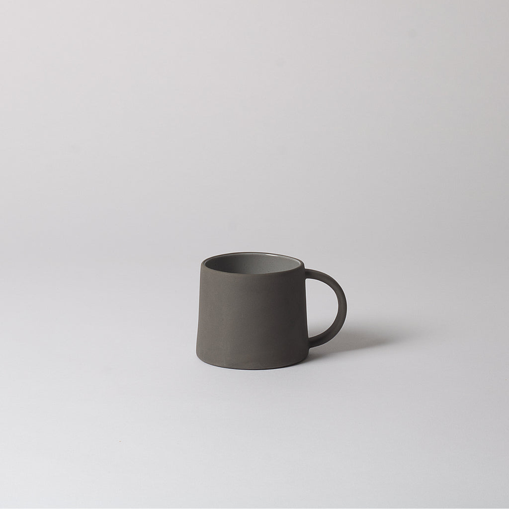 Grey Stoneware Coffee Mug