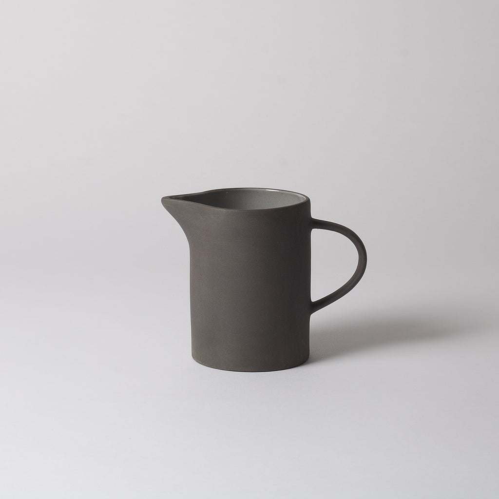 Grey Stoneware Pitcher