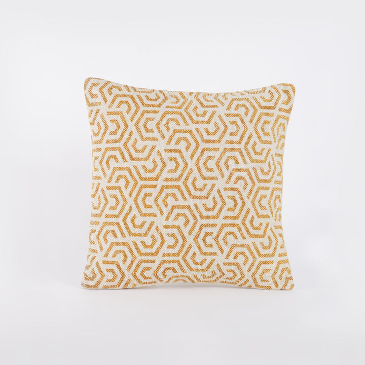 Januma Mustard Yellow Scatter Cushion