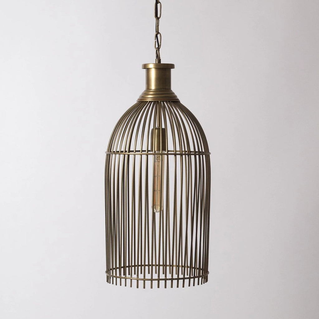 Industrial Cage Pendant Light