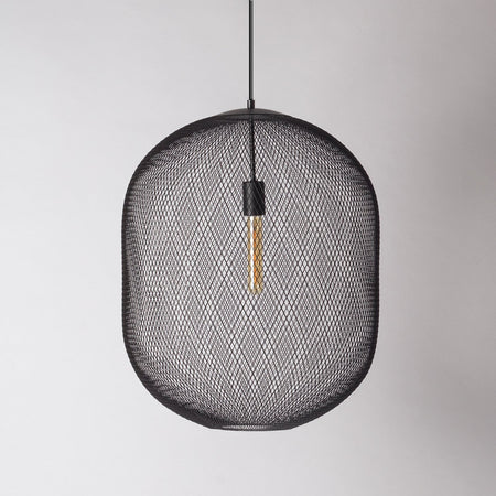 large mesh pendant light